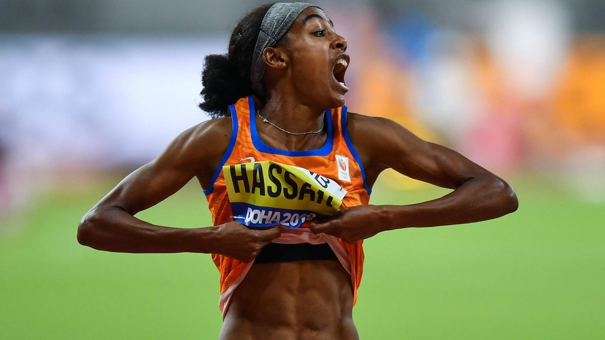 Sifan Hassan (Netherlands) during the 2019 World Championships