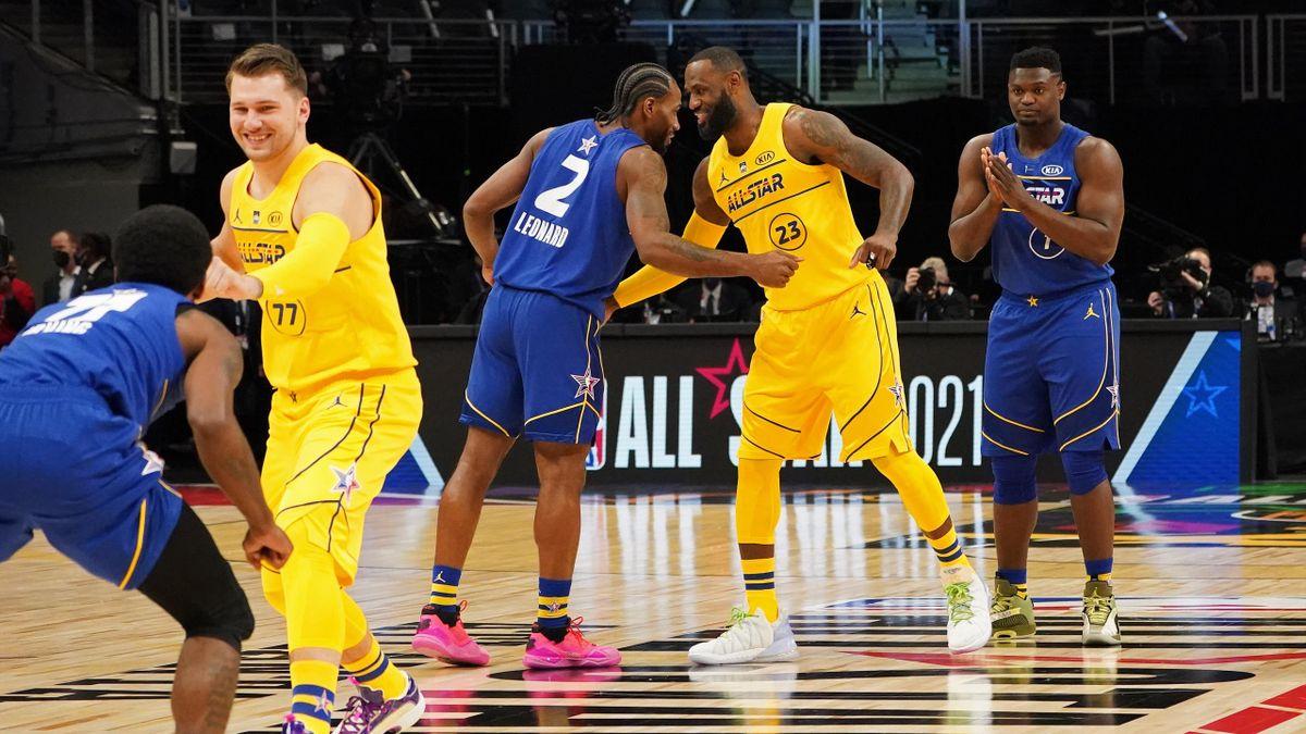 All Star Game, LeBron James e Kawhi Leonard