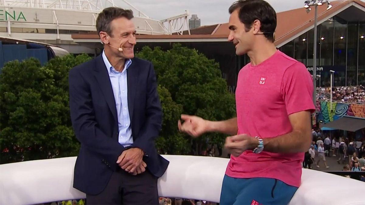 Wilander und Federer