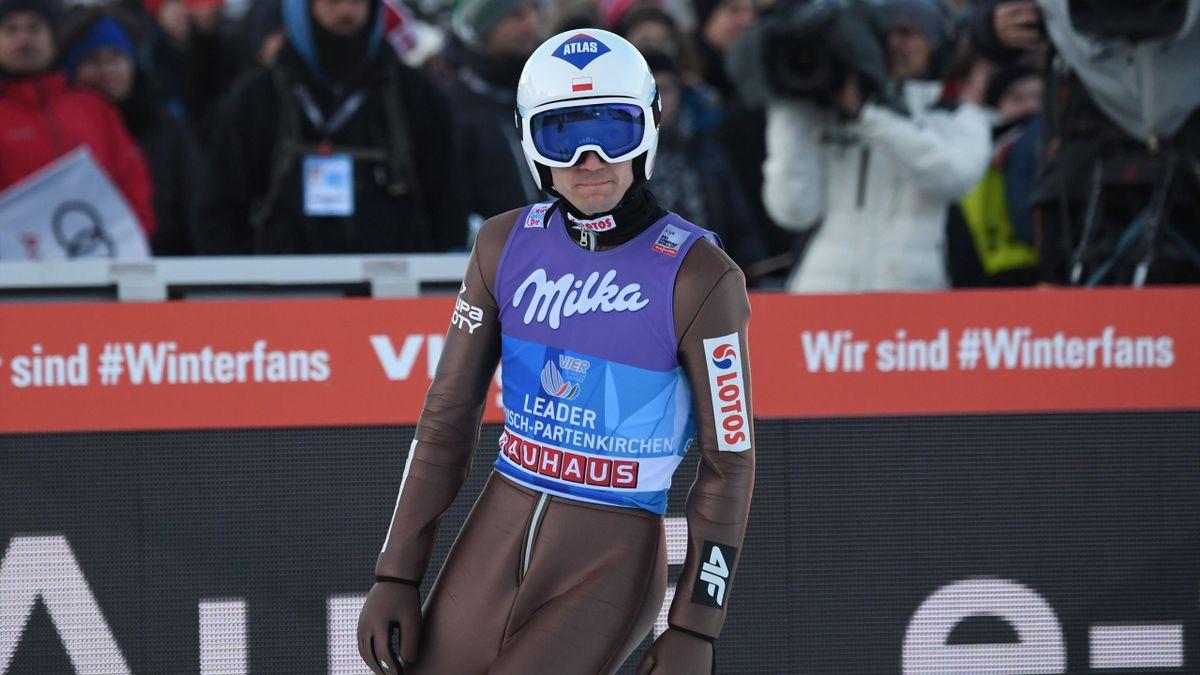 Kamil Stoch à Garmisch / Tournée des quatre tremplins 2017/2018