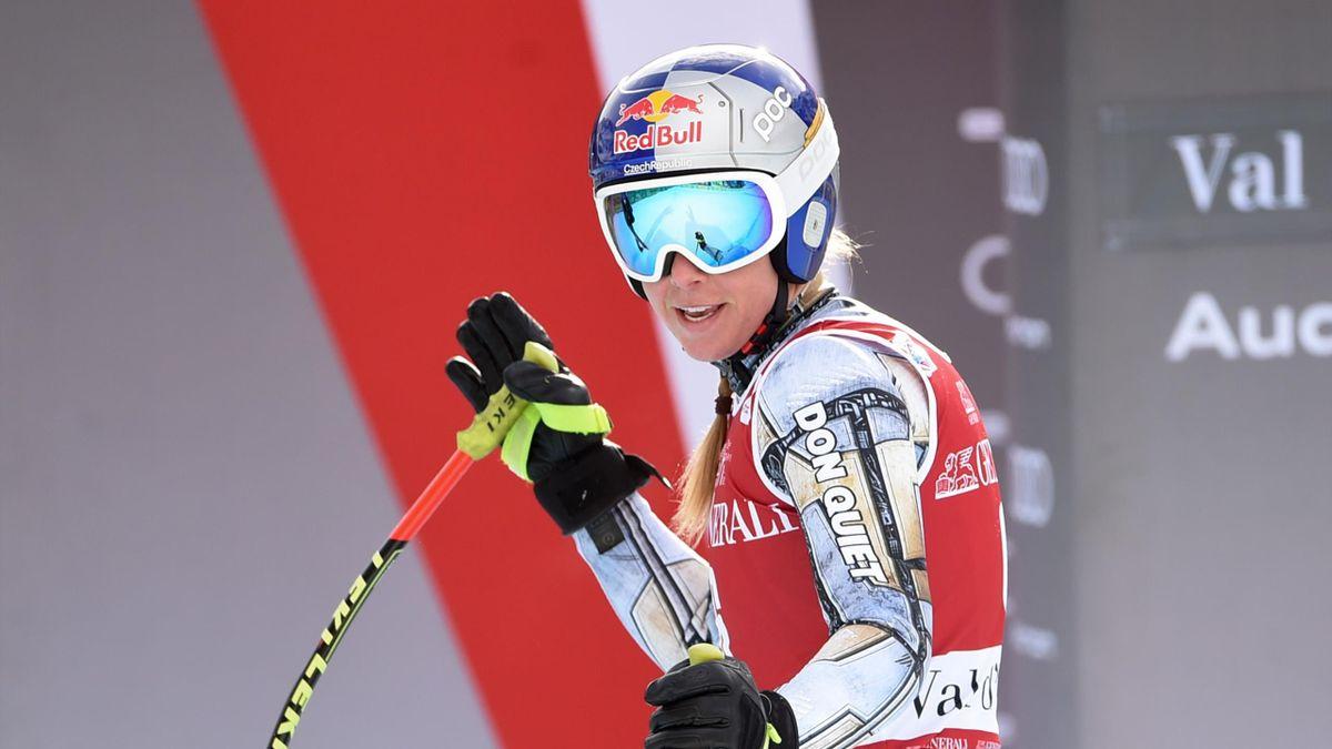 Ester Ledecka of Czech Republic, Audi FIS Alpine Ski World Cup, Women's Super Giant Slalom, Val d'Isere, France, December 20, 2020