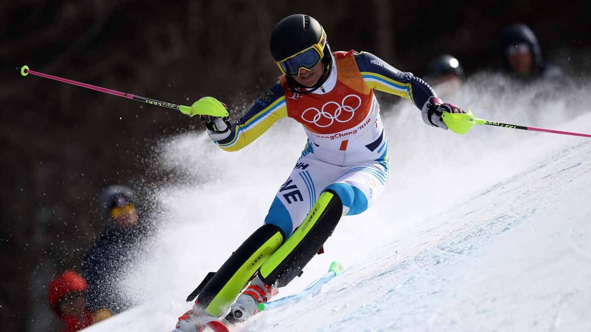 Olympia 2018: Frida Hansdotter holt Gold im Slalom
