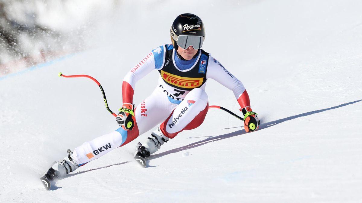 Lara Gut en super-G aux Mondiaux de Cortina