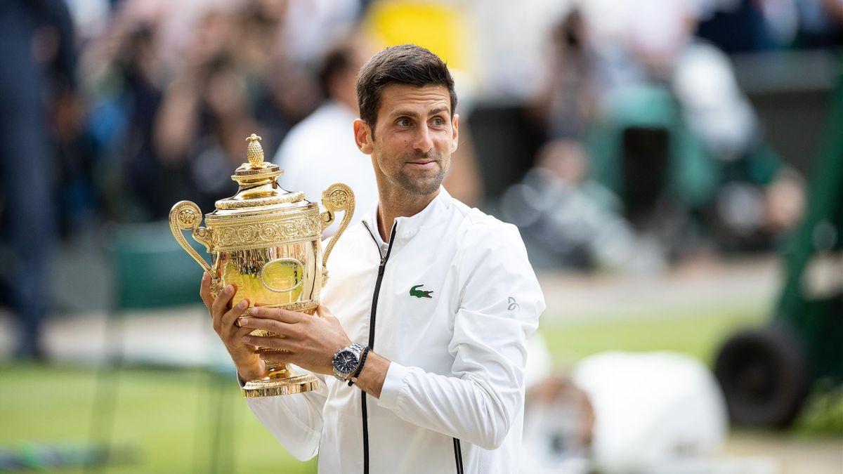 Novak Djokovic geht als Titelverteidiger bei Wimbledon an den Start