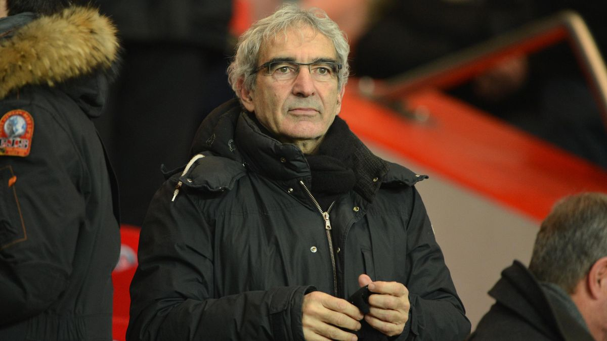 Former French national football team head coach Raymond Domenech attends the French L1 football match between Paris Saint Germain vs Lille on January 27, 2013 at the Parc-des-Princes