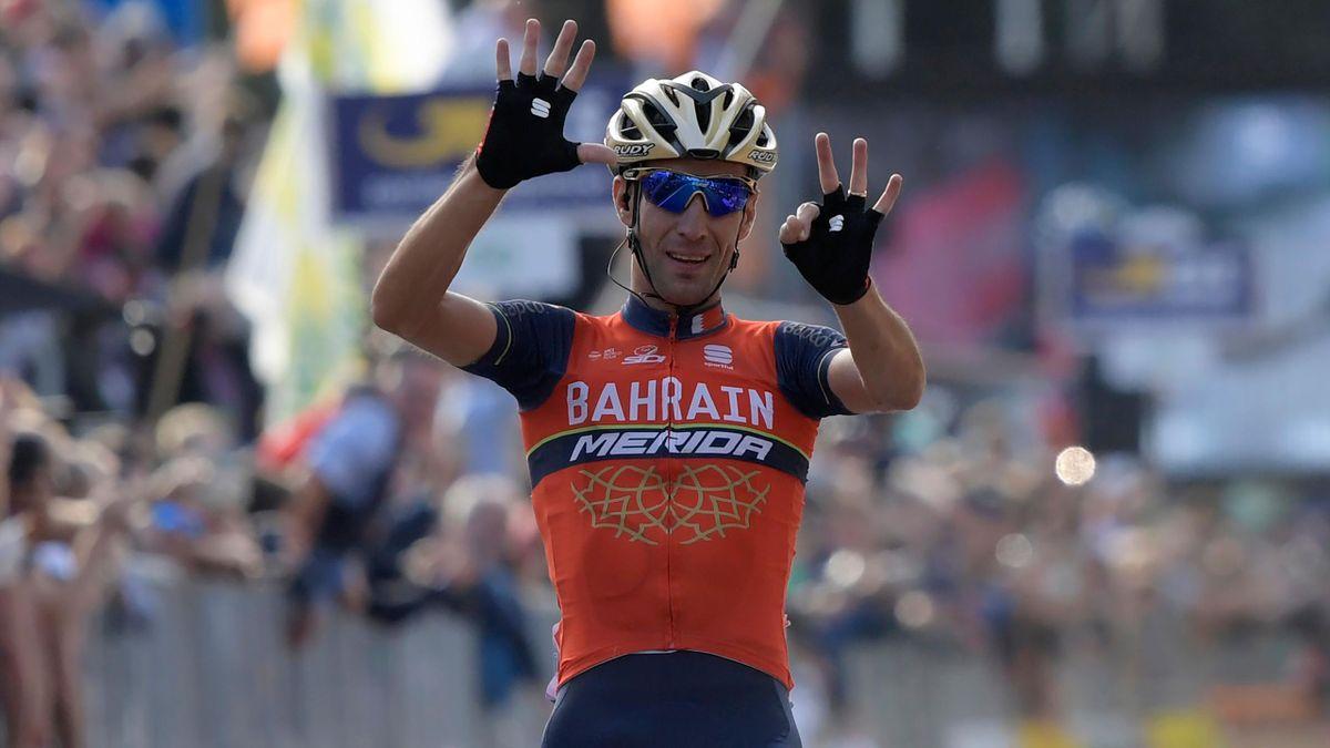 Vincenzo Nibali, winnner of Il Lombardia