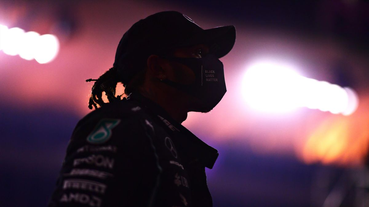 Lewis Hamilton (Mercedes) lors du Grand Prix de Bahreïn, le 29 novembre 2020