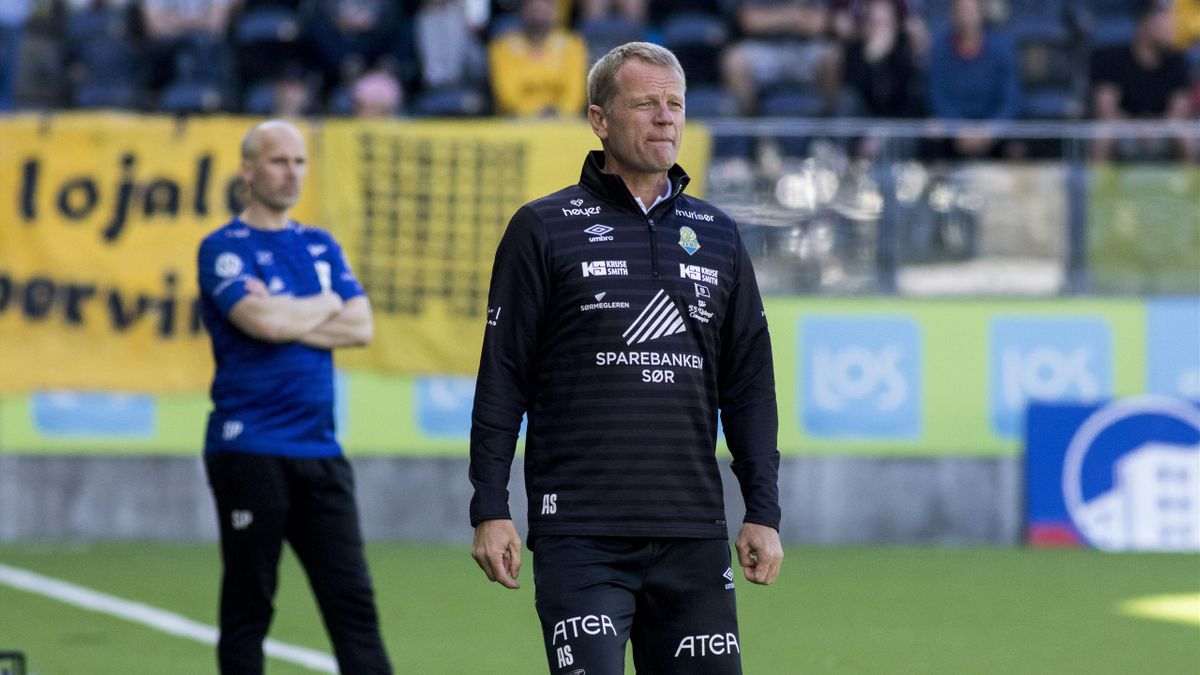 Jerv-trener Arne Sandstø
