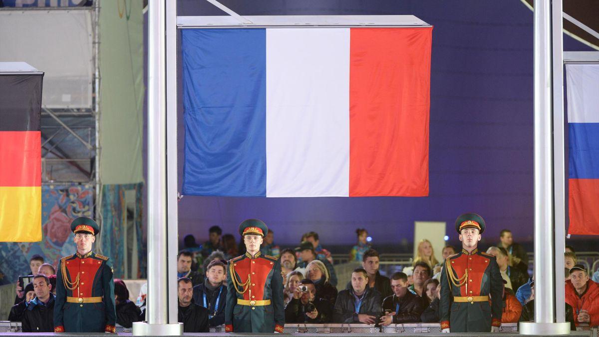 JO Sotchi 2014 Drapeau français France French flag