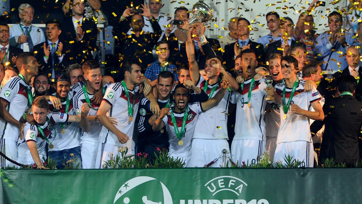 Сборная Германии – чемпион Европы среди игроков до 19 лет