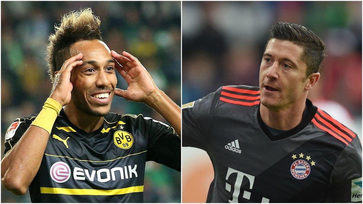 Aubameyang (Borussia Dortmund) face à Lewandowski (Bayern Munich)