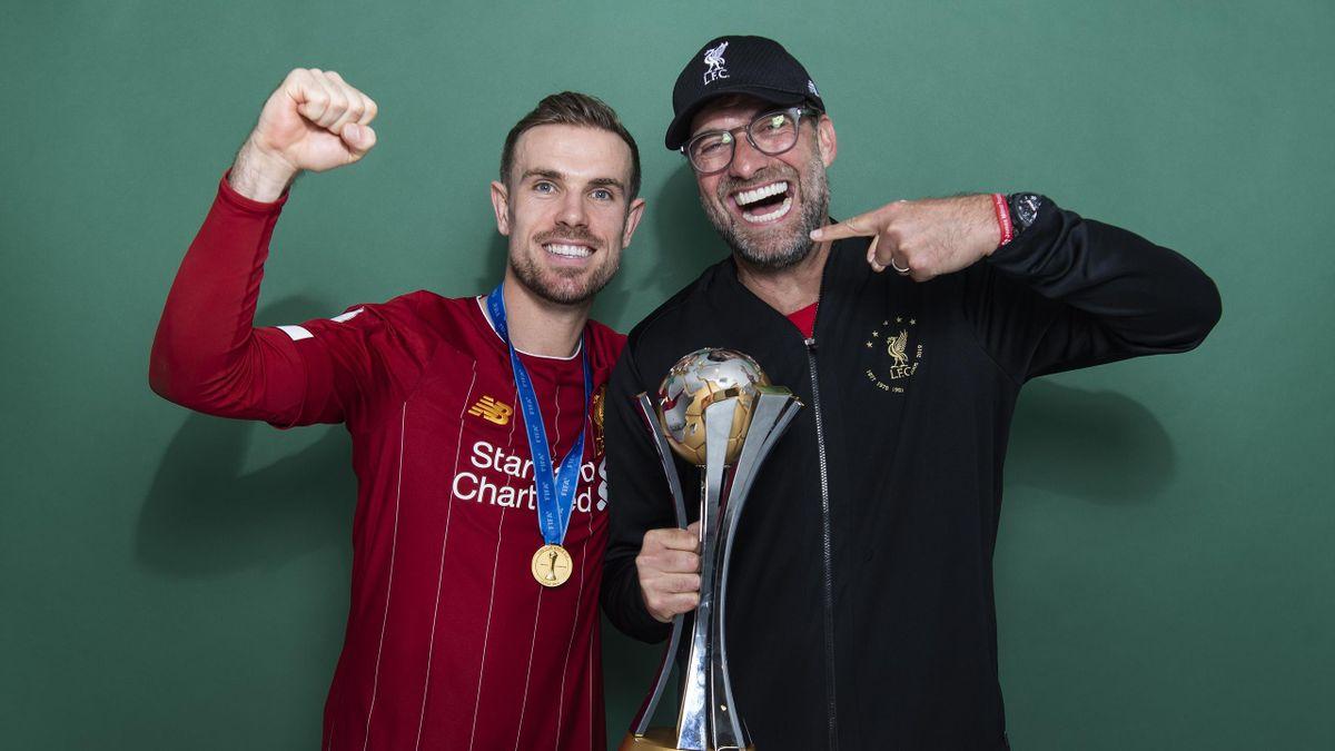 Jordan Henderson, Jürgen Klopp - FC Liverpool