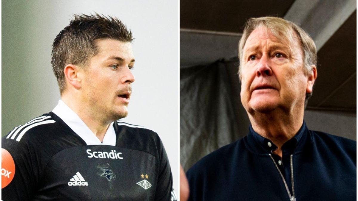 Pål Andrè Helland og Åge Hareide.