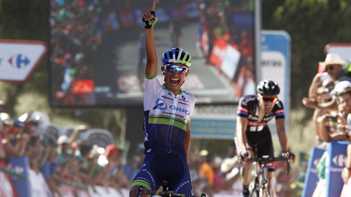 Esteban Chaves sur le Tour d'Espagne 2015