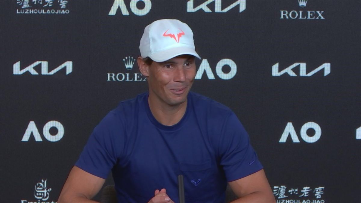 Rafael Nadal's awkward press conference at the 2021 Australian Open