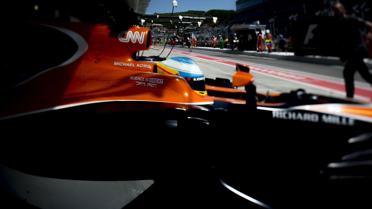 Fernando Alonso - GP Rusia 2017