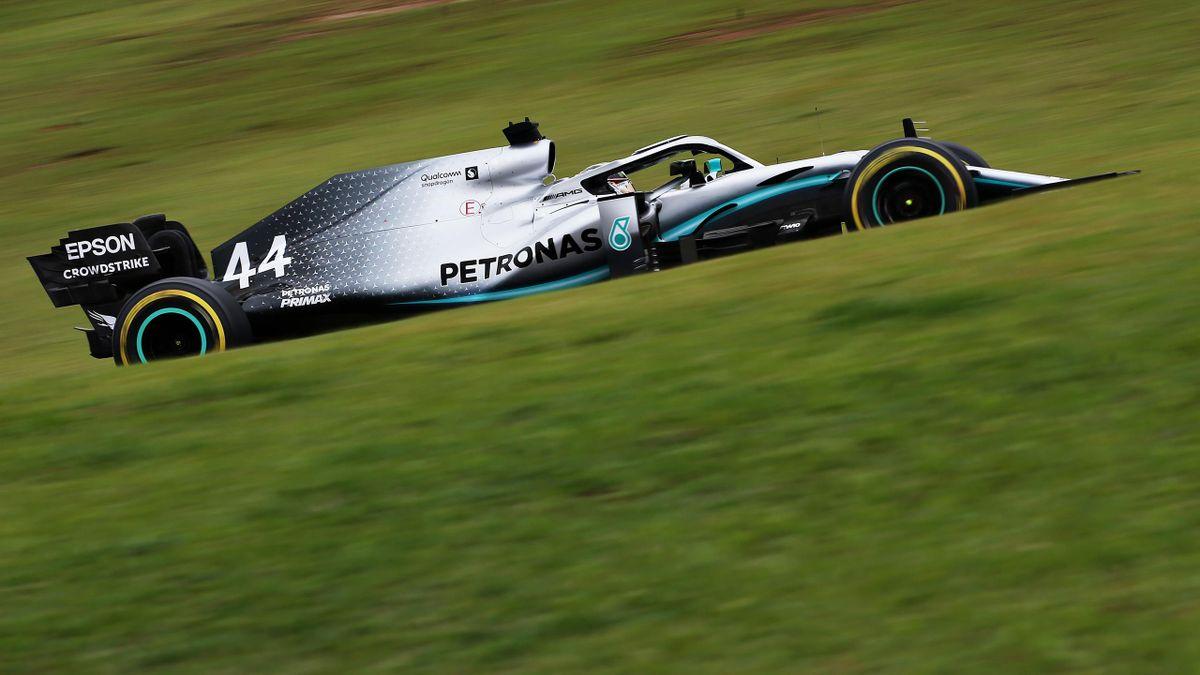 Lewis Hamilton (Mercedes) au Grand Prix du Brésil 2019