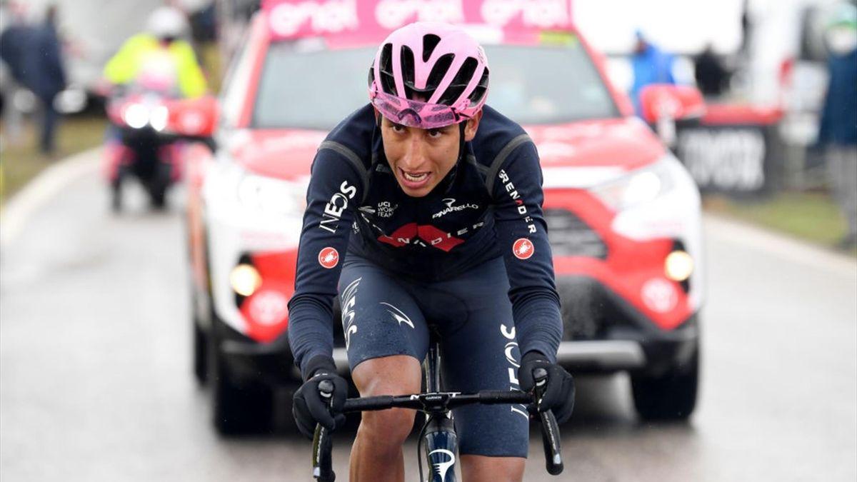 Egan Bernal auf der 16. Etappe des Giro d'Italia