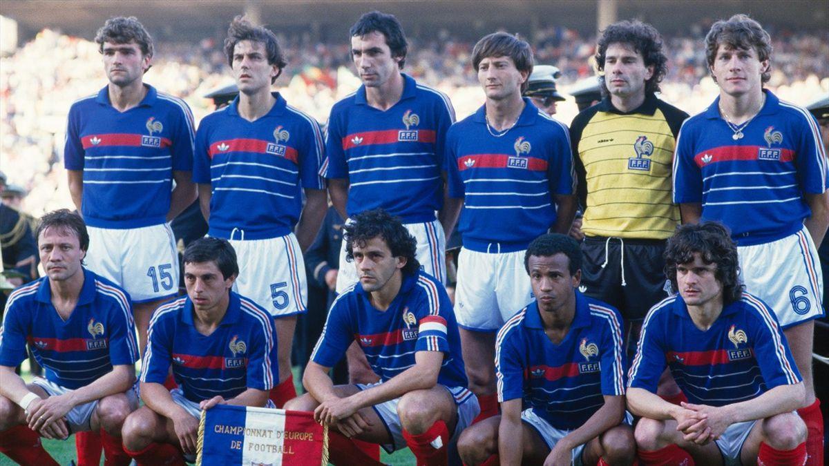 L'équipe de France 1984