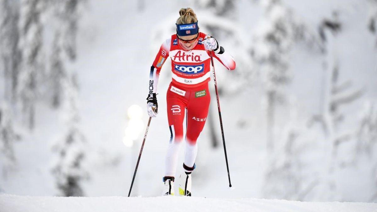 Therese Johaug war beim 10 Kilometer Einzelrennen in Ruka nicht zu schlagen