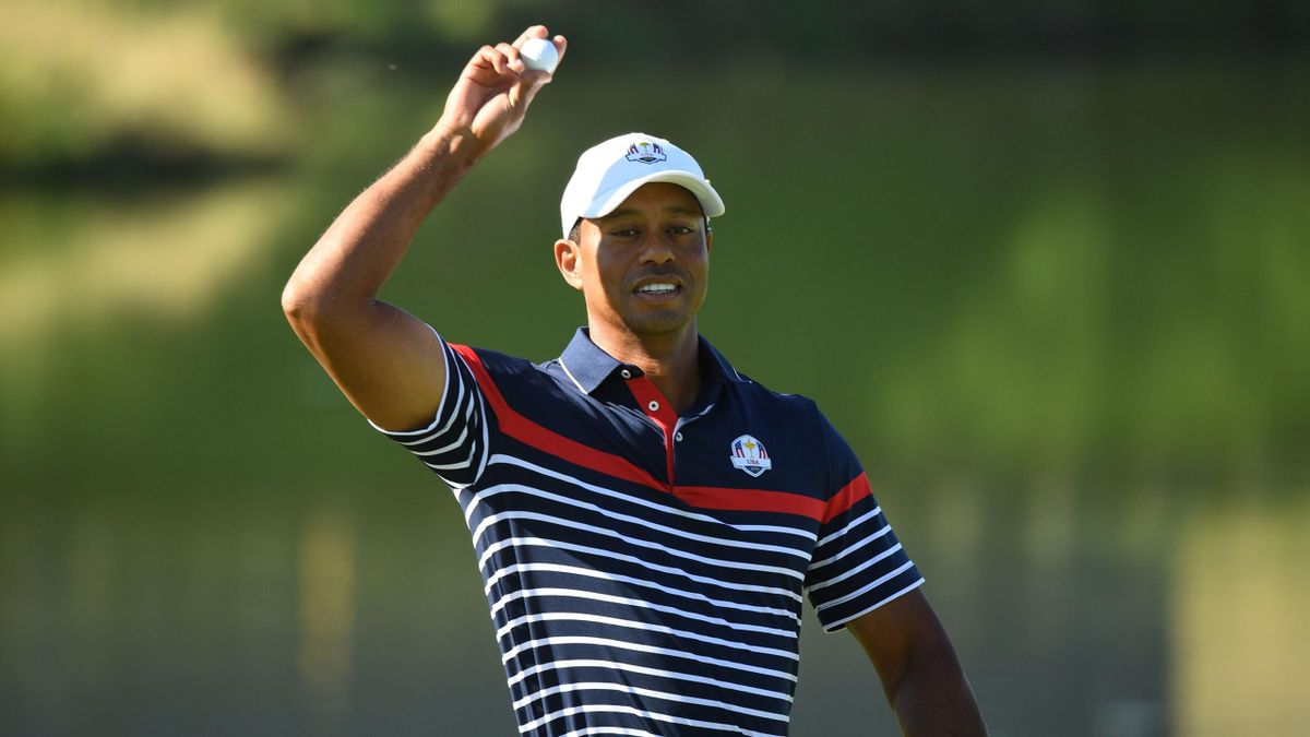 Tiger Woods à la Ryder Cup.