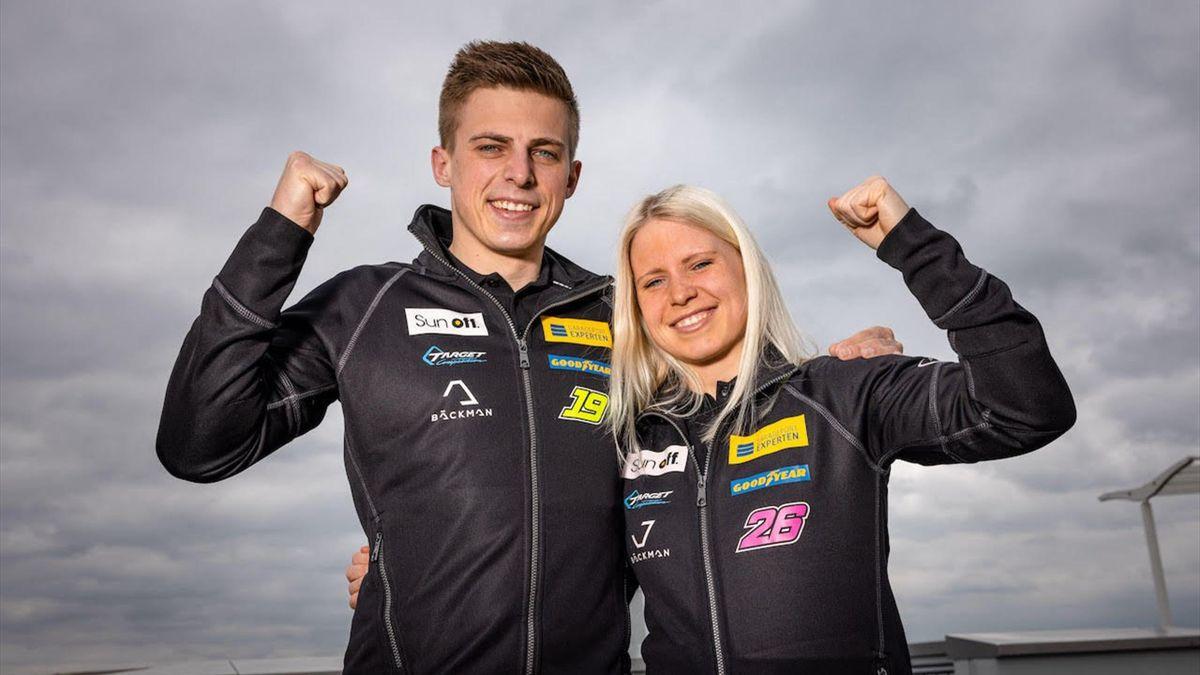 Andreas és Jessica Backman