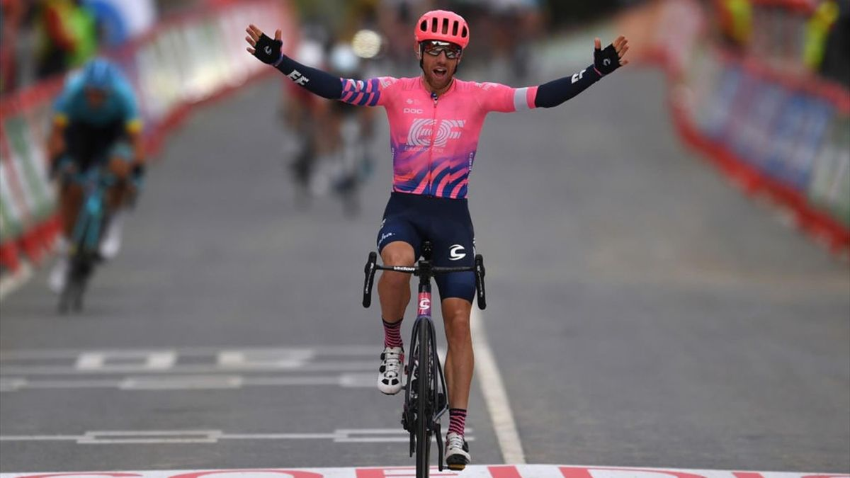 Vuelta Stage 7 - Michael Woods wins the stage 7