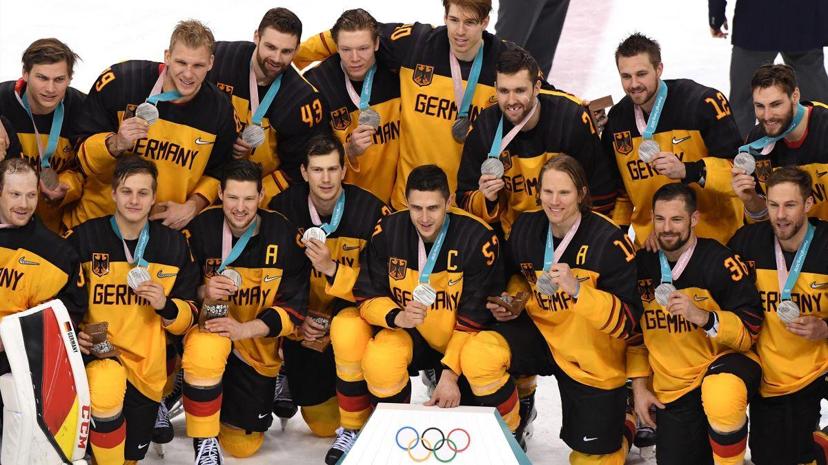 Olympia 2018: Deutschland holt Silber im Eishockey