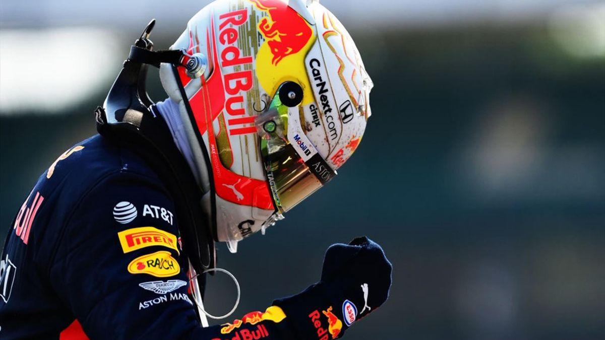 Max Verstappen (Red Bull) au Grand Prix du 70e anniversaire 2020