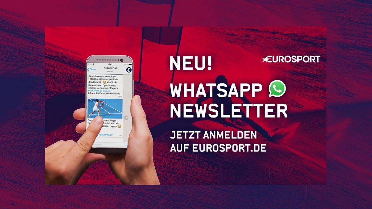 WhatsApp-News von Eurosport