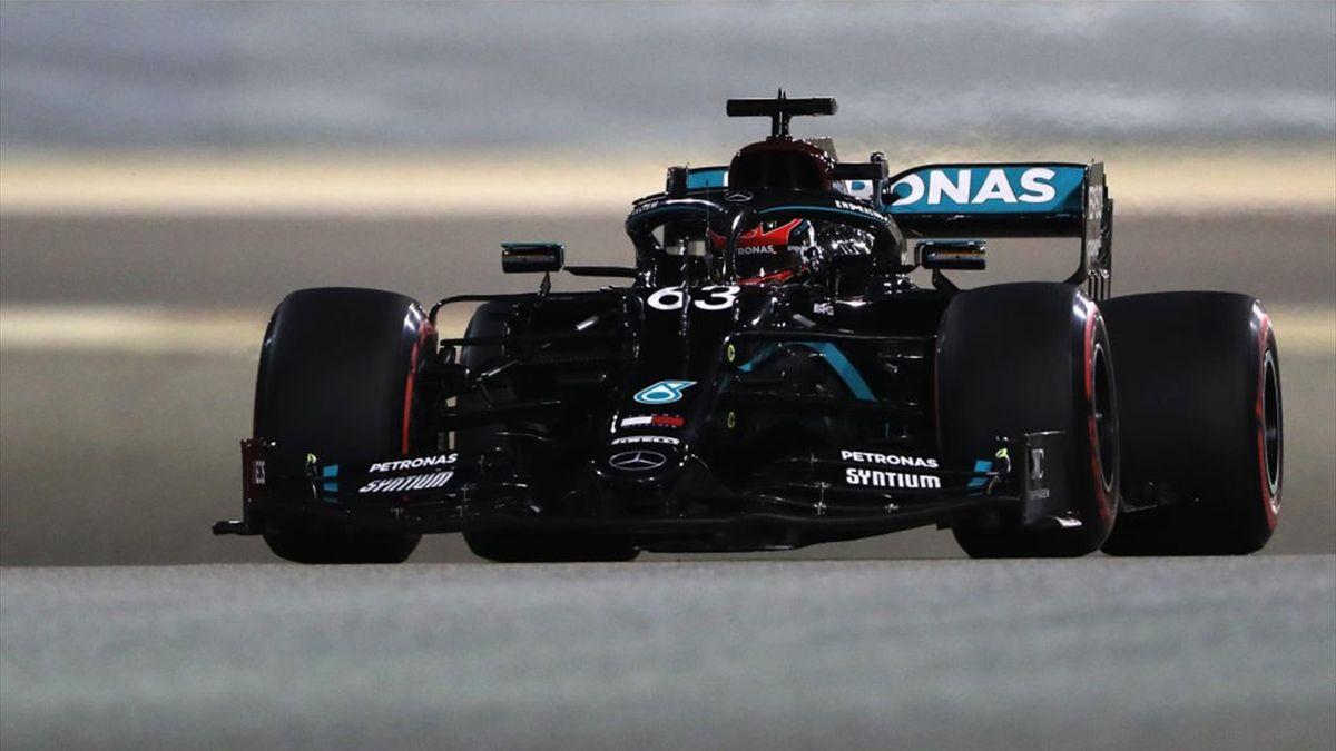 George Russell (Mercedes) au Grand Prix de Sakhir 2020
