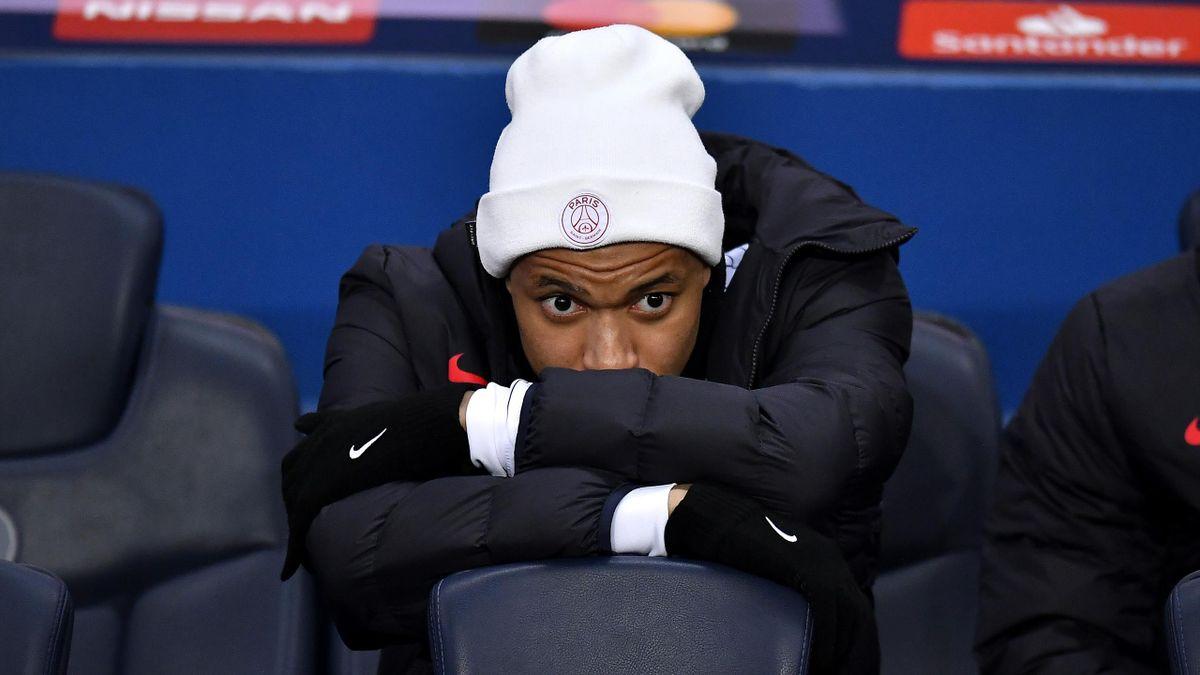 Kylian Mbappé sur le banc face à Dortmund