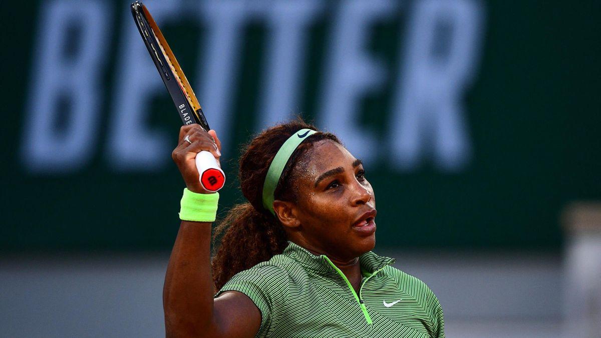 Serena Williams steht in der dritten Runde der French Open
