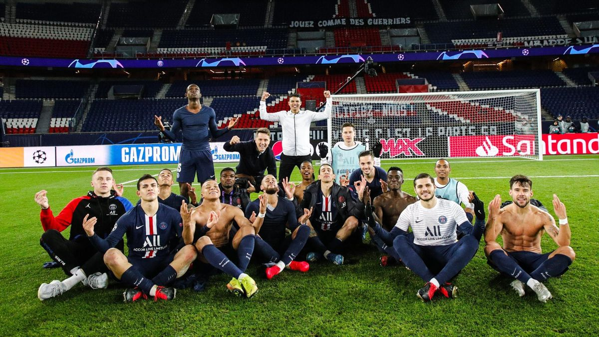 Les joueurs du PSG ont pris un malin plaisir à singer la célébration d'Erling Haaland.