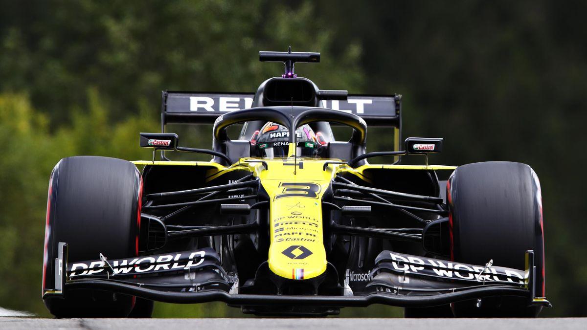 Daniel Ricciardo (Renault) au Grand Prix de Belgique 2020