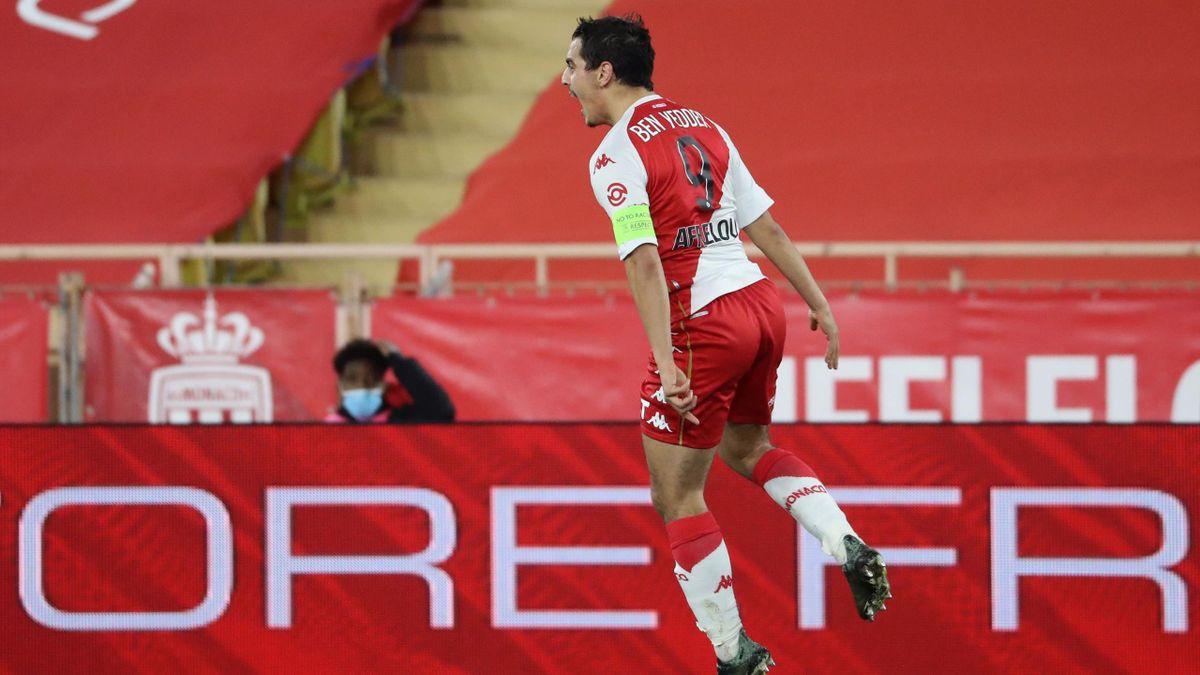 Wissam Ben Yedder face à Nice.