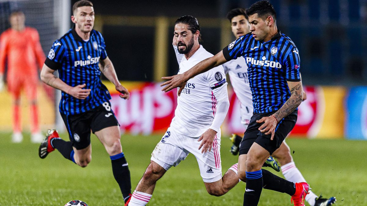 Иско («Реал») против Кристиана Ромеро («Аталанта»)