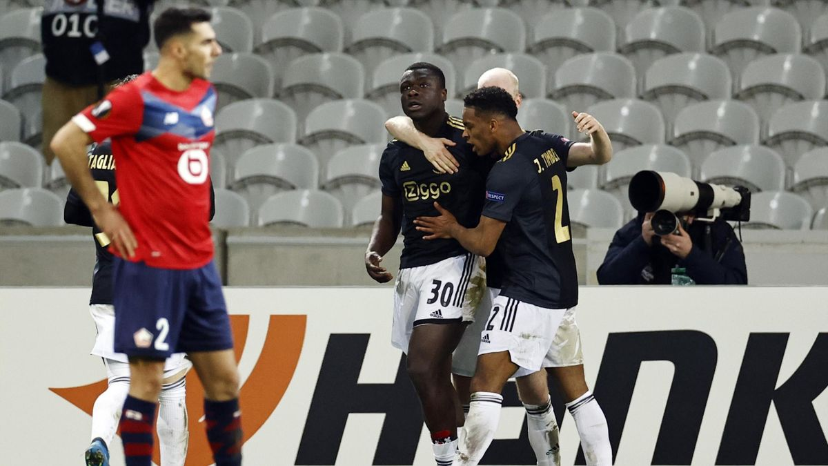 En deux minutes, l'Ajax a renversé Lille.