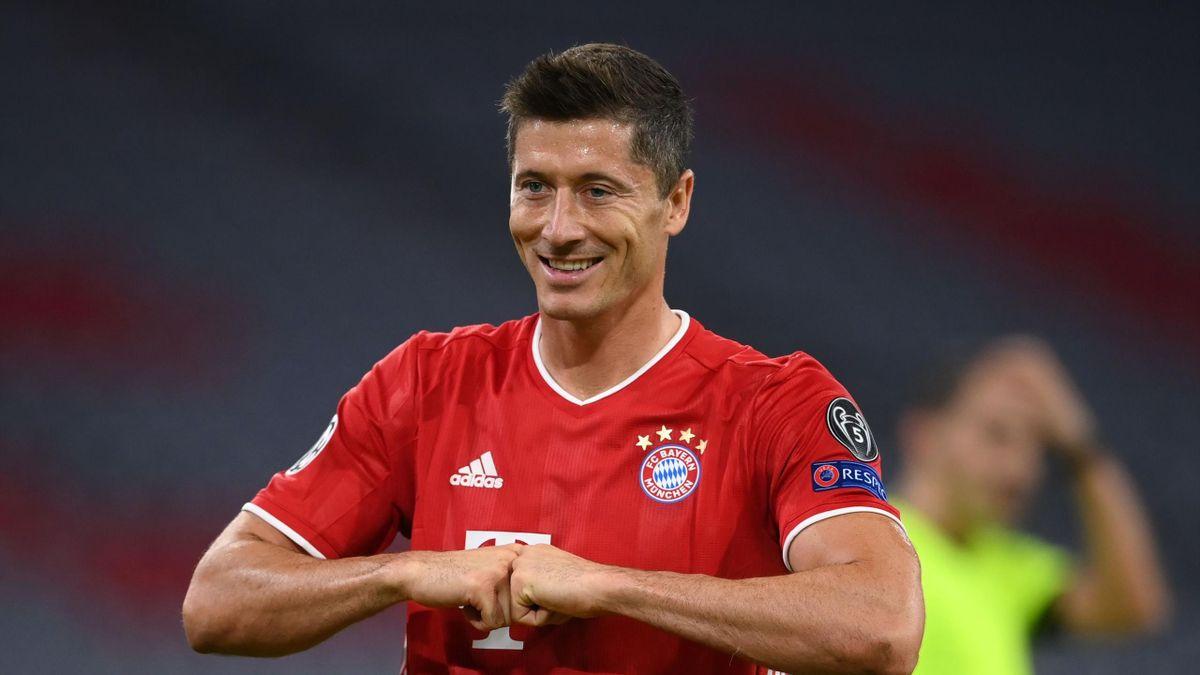 Bayern : Encore un doublé : la machine de Lewandowski est lancée avec le record de CR7 en vue - Eurosport