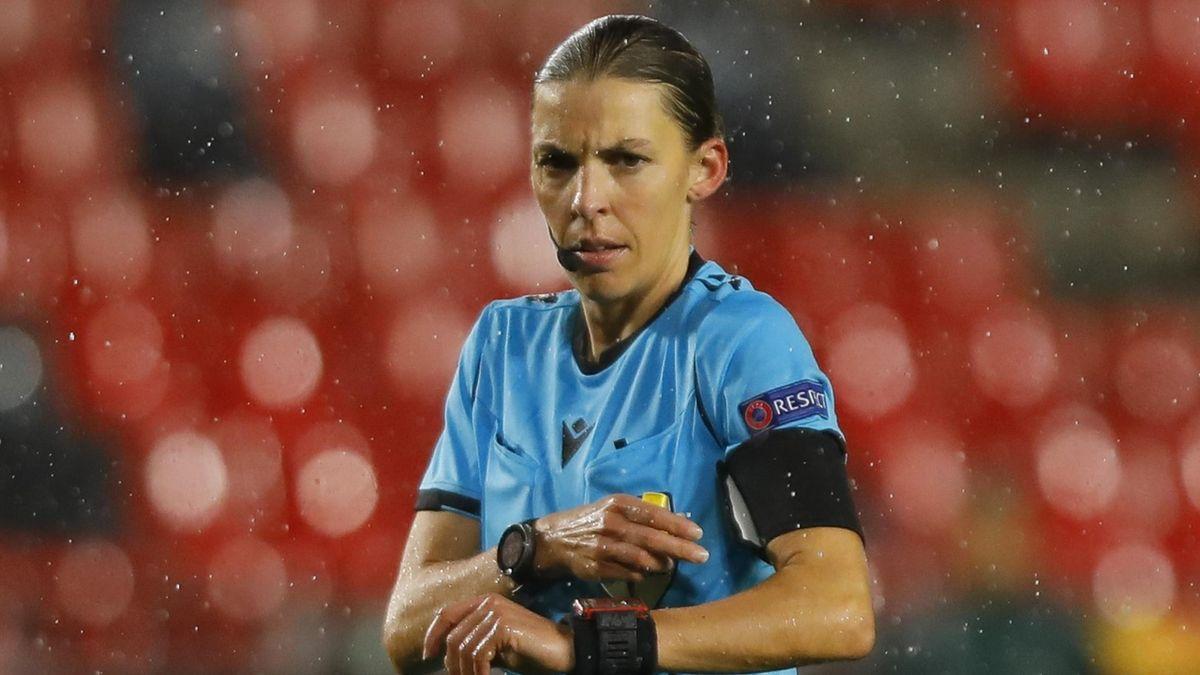 Referee Stephanie Frappart
