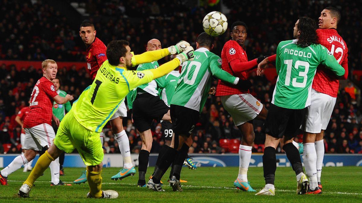 Manchester United - CFR Cluj 0-1 (5 decembrie 2012, UEFA Champions League)