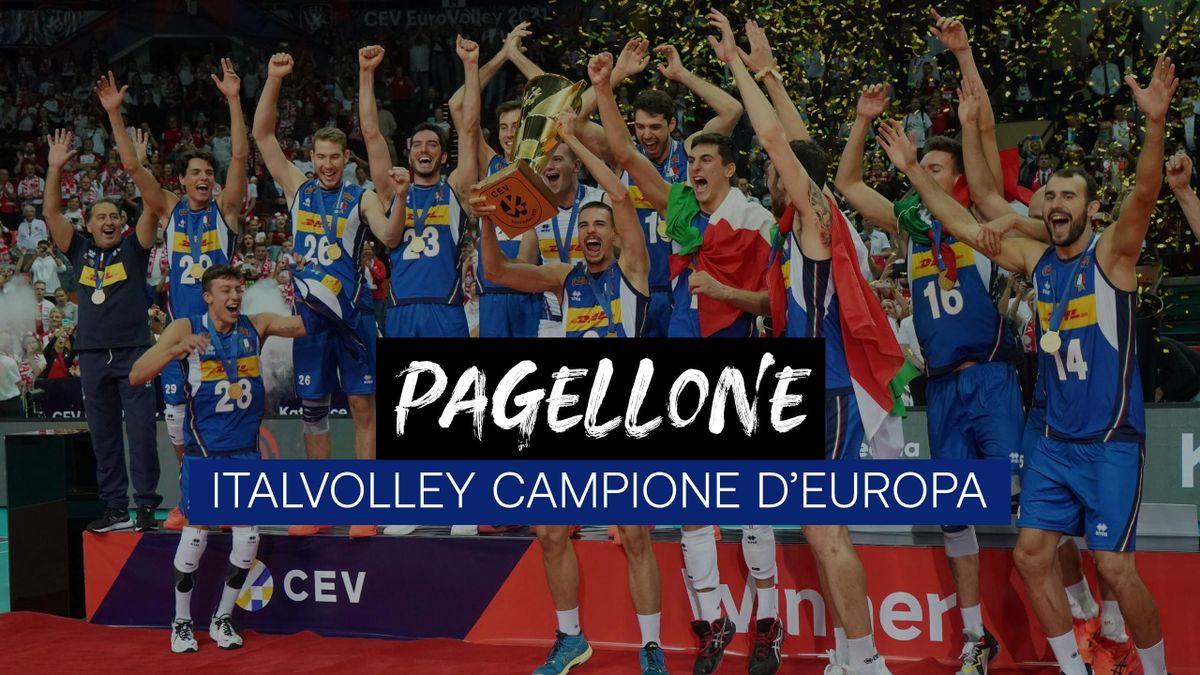 Italvolley Campione d'Europa