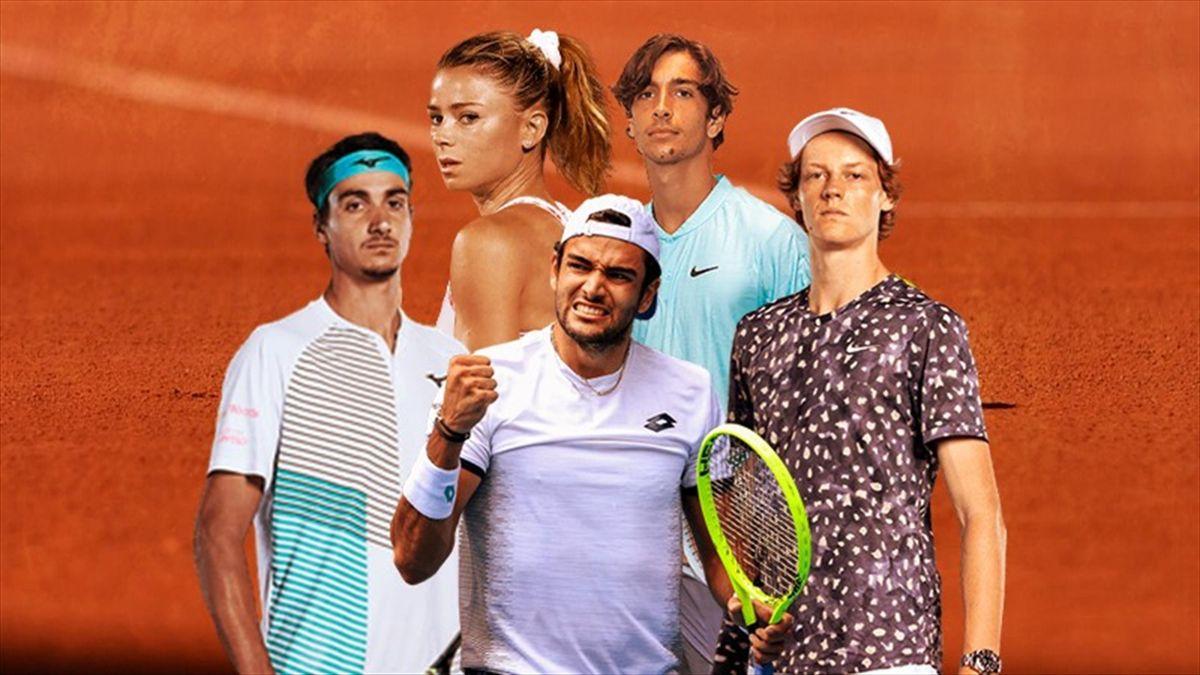Roland Garros 2021, gli italiani in campo
