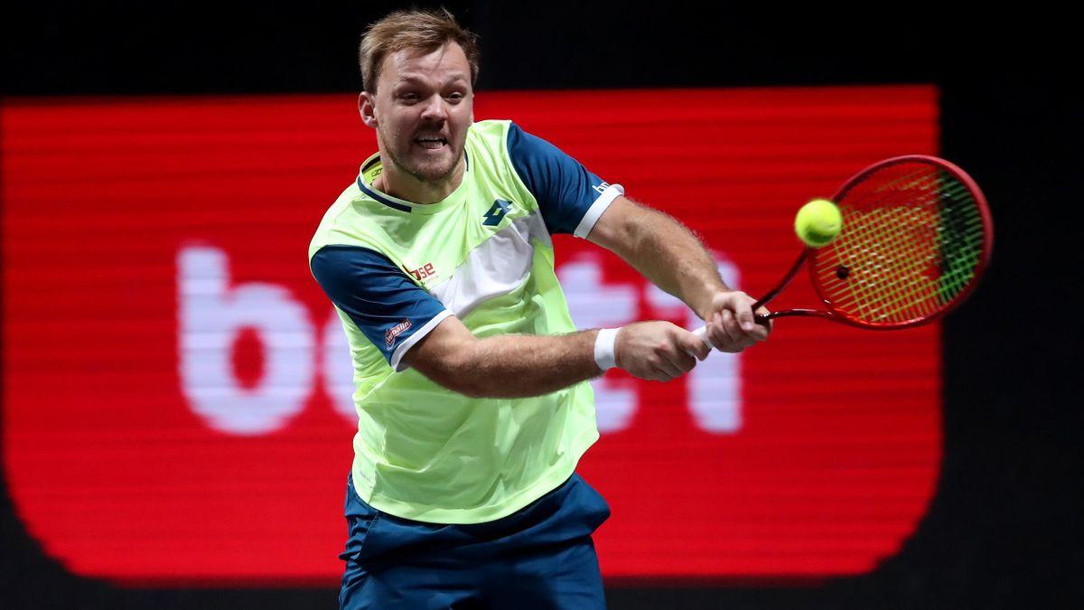 Kevin Krawietz steht beim ATP-Turnier in Barcelona im Doppel-Finale