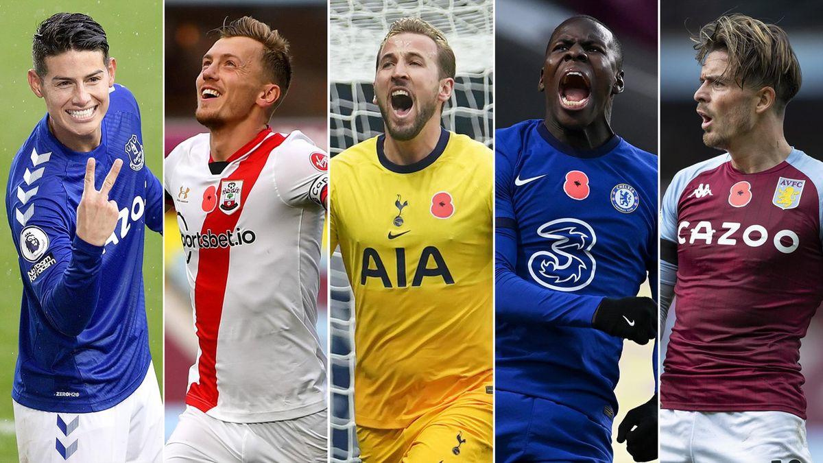 The Premier League players of the season… so far