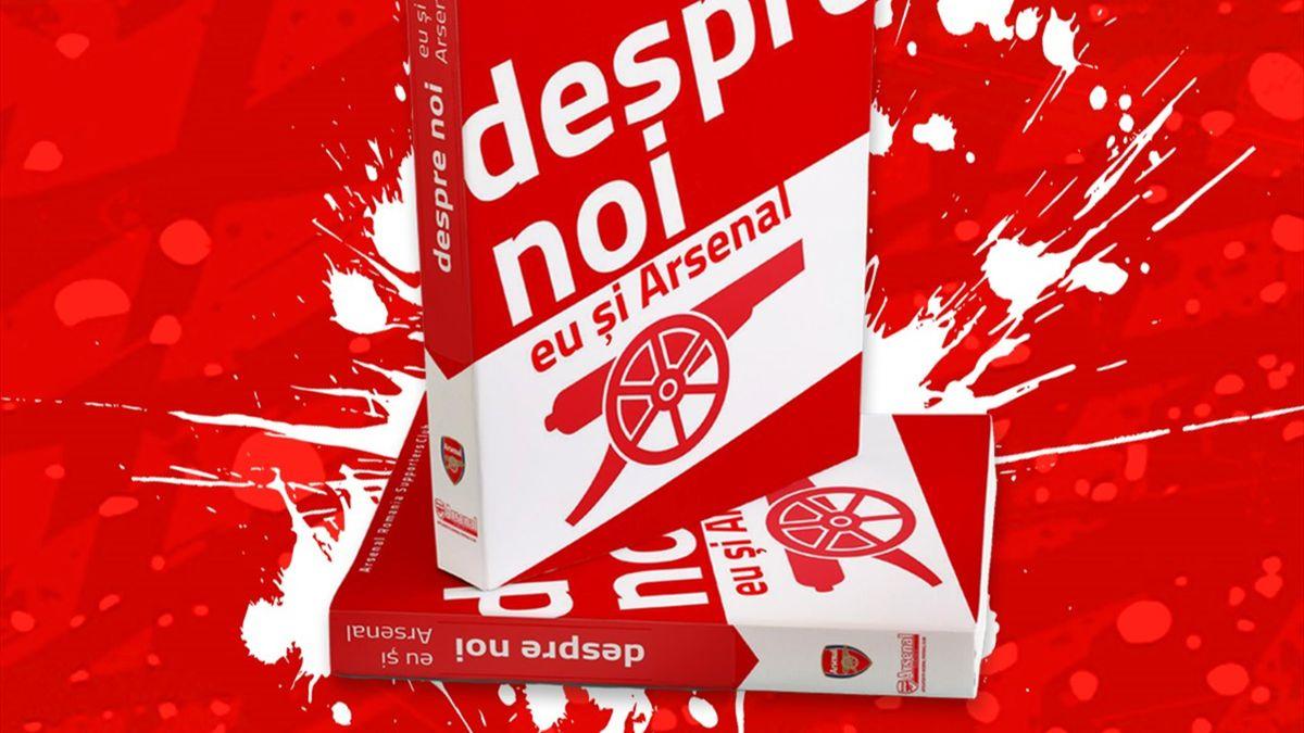 Cartea pe care fanii lui Arsenal din România au scris-o la 10 ani de la înființarea Fanclubului