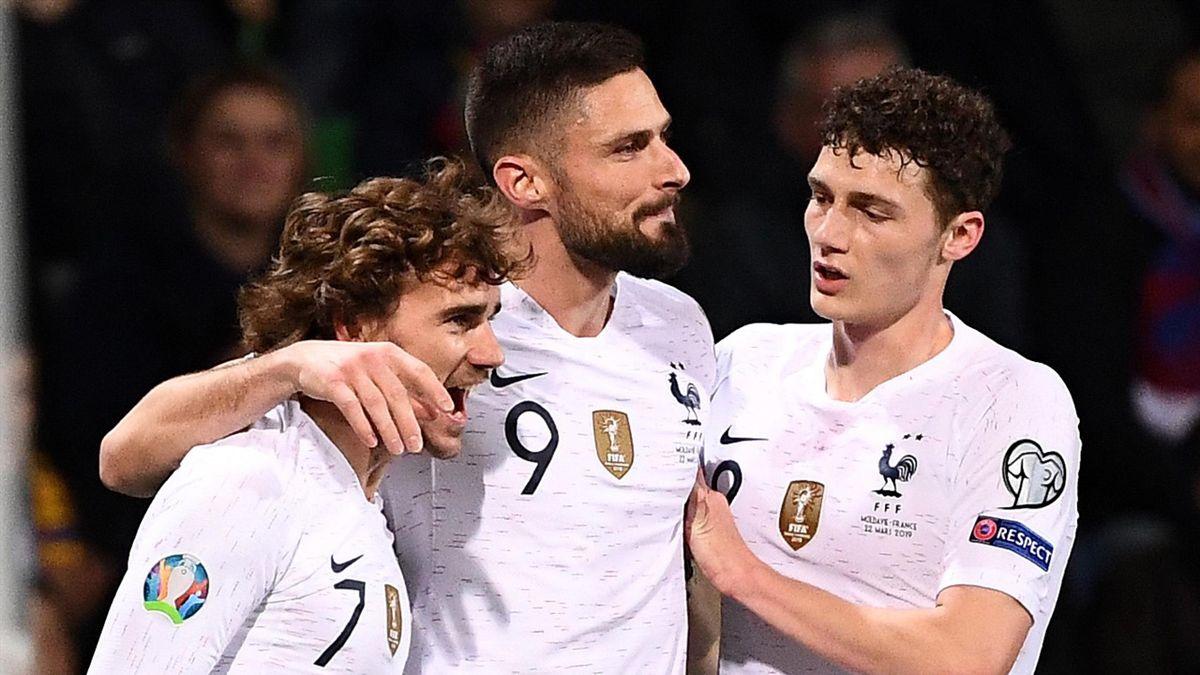 Football news - France coast to comfortable win in Moldova - Eurosport
