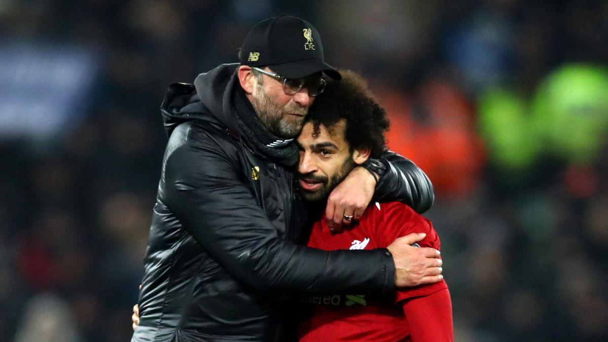 Jürgen Klopp, Mohamed Salah (FC Liverpool)