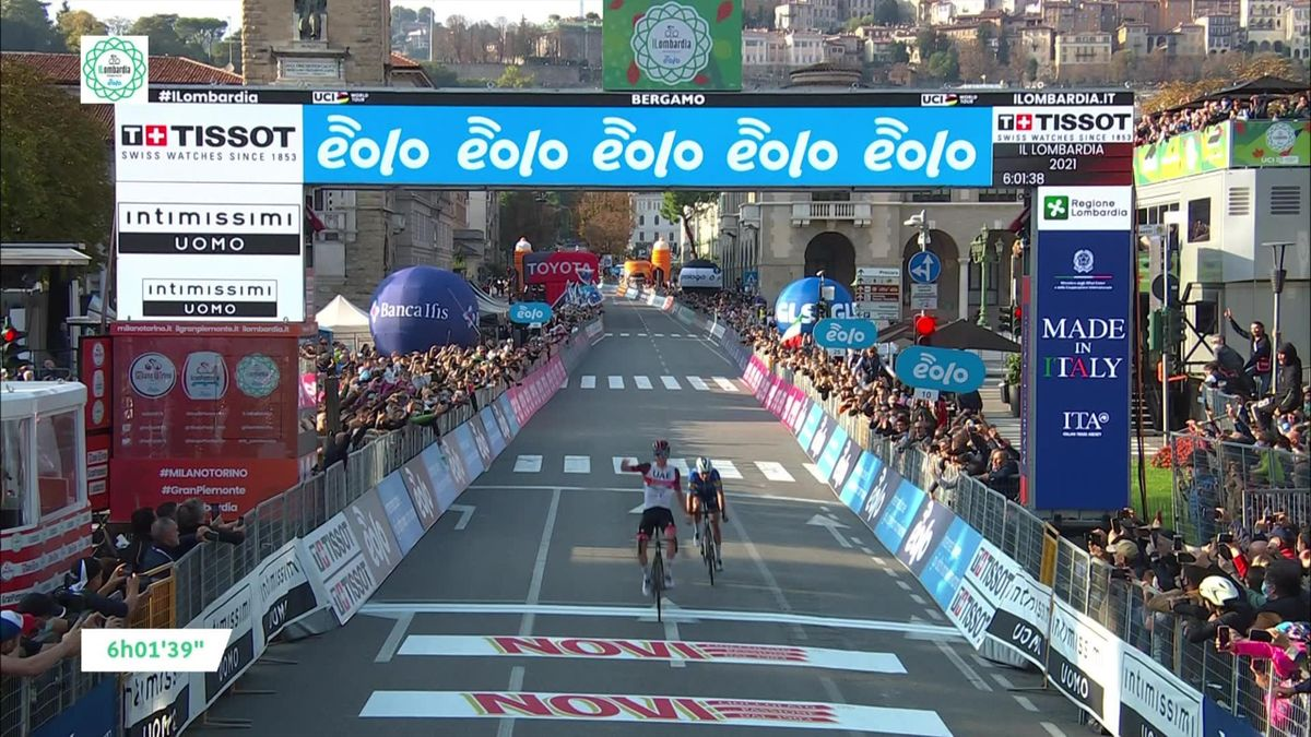 'Two Monuments and a Tour de France!' – Pogacar claims stunning Lombardia win