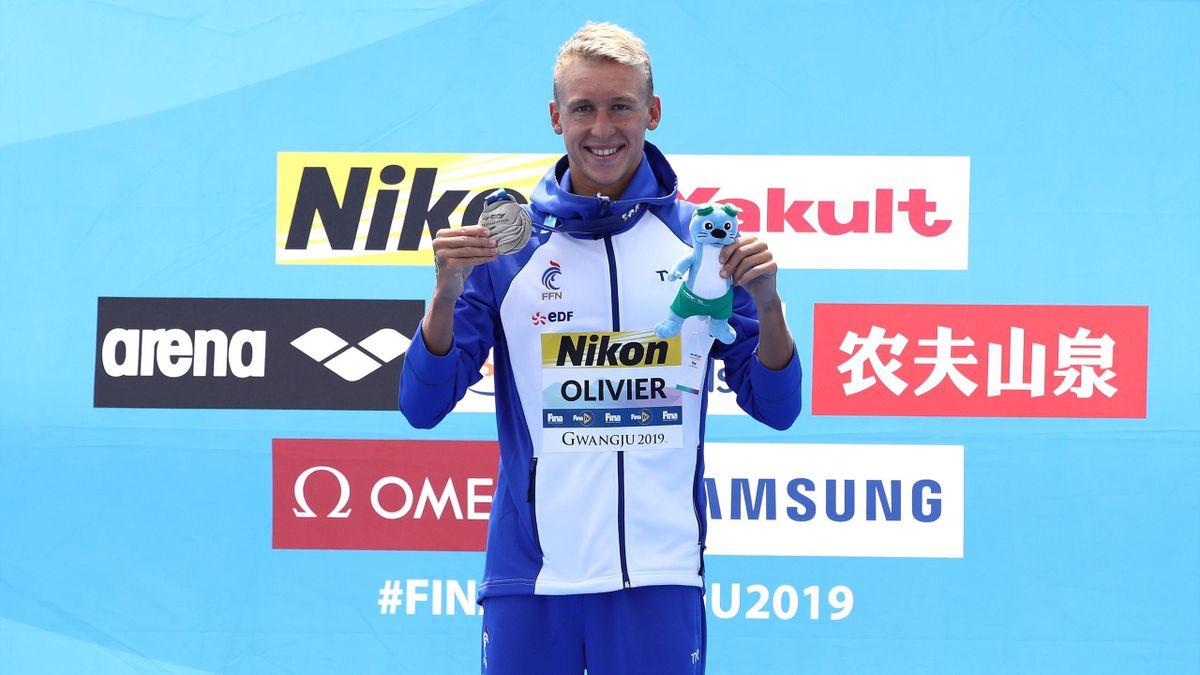 Marc-Antoine Olivier médaille d'aregnt des Mondiaux